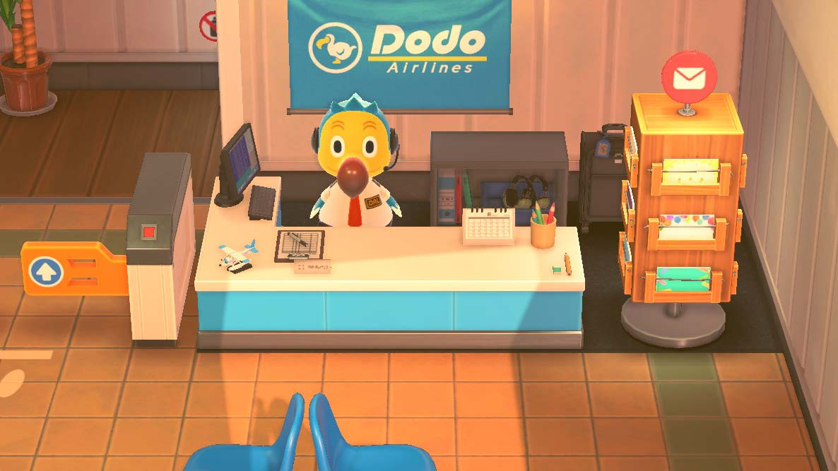 (Animal Crossing Dodo support image)