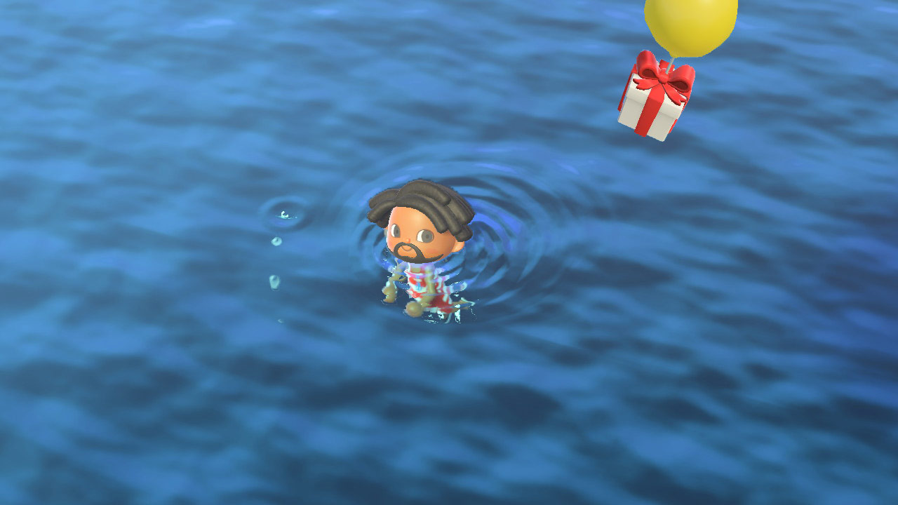 (Animal Crossing NH Sea Creature Bubbles Image)